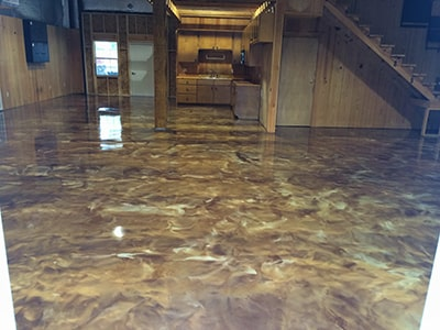 Metallic-Flooring-Houston