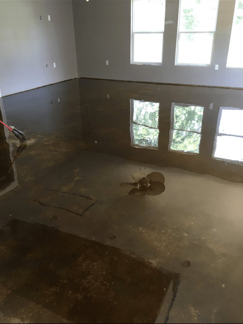 Stained Concrete Floors Viking Prairieville La