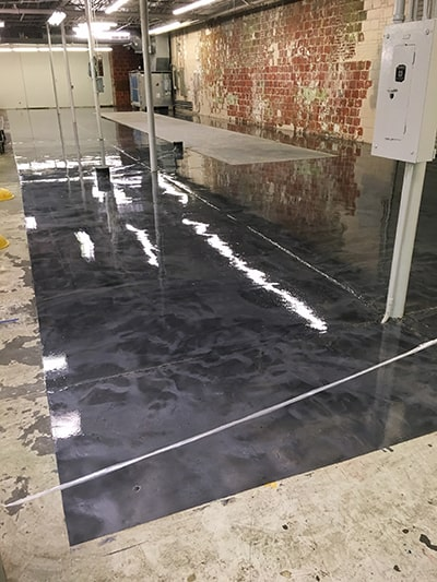 Stained-Concrete-Installation