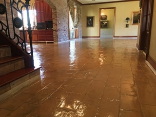 Stained-Floor